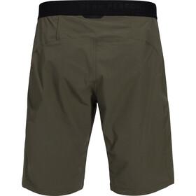 Peak Performance M's Light Softshell Shorts Terrain Green